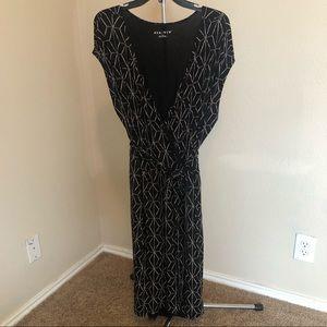 Faux Wrap Dress Plus Size 2X Ava And Viv Black